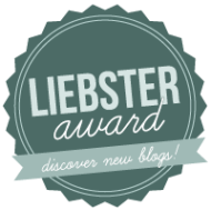 Liebster Award… Why thank you lovely!